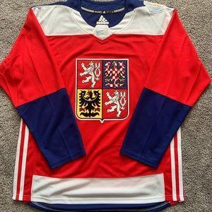Czech world cup of hockey jersey